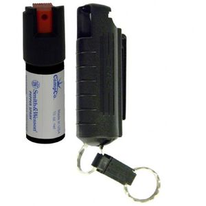 S&W Pepper Spray .5oz 15% with Plastic Case and Quick Release Key Ring 1403