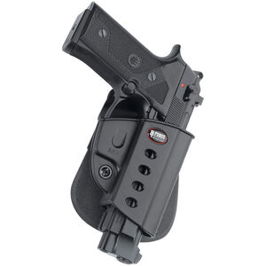 Fobus Evolution Holster Beretta 92/Taurus PT92,PT99 Right Hand Belt Attachment Polymer Black