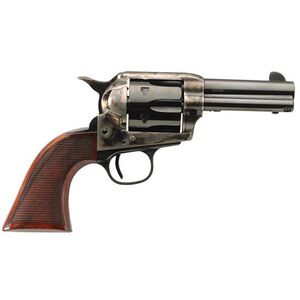 """Taylor's & Company 1873 Runnin' Iron Deluxe Single Action Revolver .45 LC 3.5"""" Barrel 6 Rounds Walnut Grips Case Hardened Frame Finish 4201DE"""