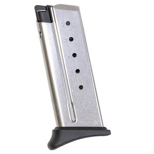 Springfield Armory XD-S Mod.2 6 Round Magazine .40 S&W With Hook Plate Black XDSG4006H