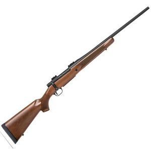"Mossberg Patriot Bolt Action Rifle 338 Win Mag 22"" Fluted Barrel 3 Rounds Walnut Stock Matte Blued"
