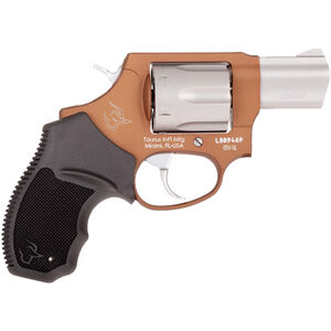 "Taurus UL 856 .38 Special +P DA/SA Revolver 2"" Barrel 6 Rounds Rubber Grips Bronze/Stainless Finish"
