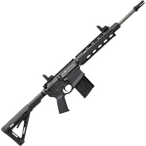 """DPMS Recon AR-15 Semi Auto Rifle 5.56 NATO 16"""" Stainless Steel Barrel 30 Rounds Black"""