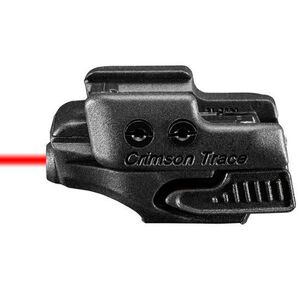Crimson Trace CMR-201 Rail Master Universal Red Laser Sight Polymer Housing Matte Black Finish
