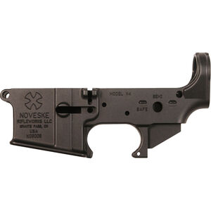 Noveske Gen 1 N4 AR-15 Stripped Lower Receiver Forged Aluminum Construction Hard Coat Type III Anodized Matte Black