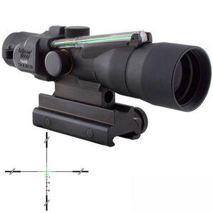 Trijicon ACOG TA33G-11 3x30 Rifle Scope Illuminated Green Crosshair .308 Winchester Ballistic Reticle 1/4 MOA with TA60 Mount Aluminum Black TA33G-12