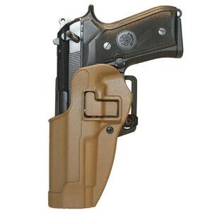 BLACKHAWK! SERPA CQC 1911 Government Holster Left Hand Coyote Tan Finish 410503CT-L