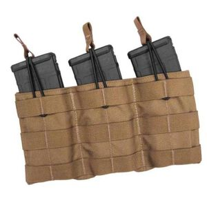 Tac Shield Triple Speed Load AR-15 Rifle Magazine Pouch 1000D Nylon Coyote Tan T3508CY
