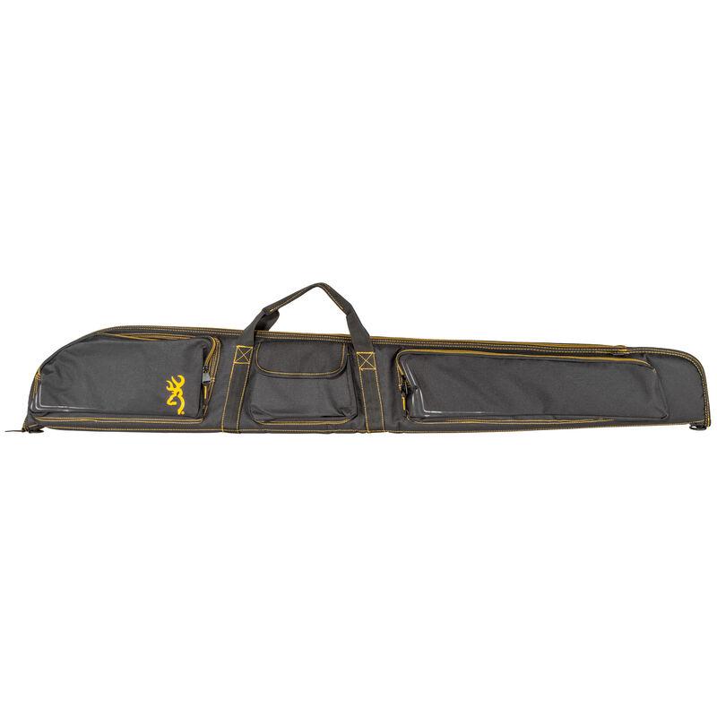 "Browning Flexible Shotgun Case 54"" Three Side Pocket Black and Gold"