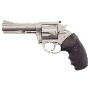 "Charter Arms Target Bulldog Double Action Revolver .44 Special 4.2"" Barrel 5 Rounds Full Rubber Grip Matte Stainless Steel 74442"