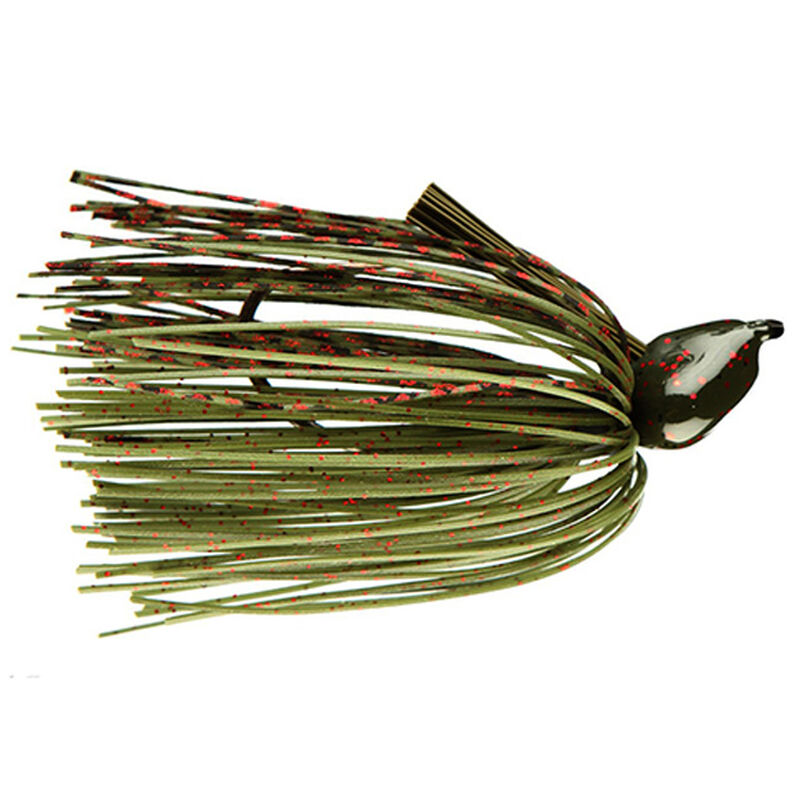 Strike King Lures Denny Brauer Structure Jig 1.0 oz 5/0 Hook Watermelon Red Flake