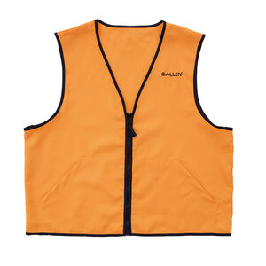 Allen Deluxe Blaze Orange Hunting Vest Size Small Polyester