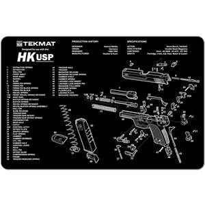 "TekMat ""HK USP"" Armorers Bench Mat 11""x17""x1/8"" Neoprene 17-HKUSP"