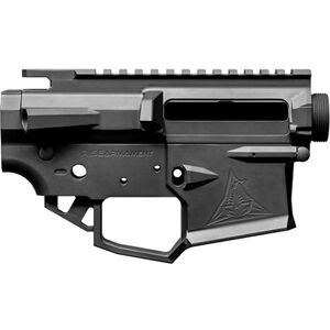 RISE Armament Ripper AR-15 Receiver Set Matched Stripped Upper and Lower Billet Aluminum Black