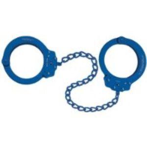 Peerless Handcuff Company Oversize Leg Irons Navy
