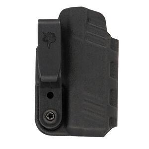DeSantis Gunhide Slim-Tuk IWB Holster fits SIG Sauer P365 with TLR-6 Ambidextrous Tuckable Kydex Black