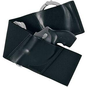 Galco Underwraps Belly Band Holster XL Elastic/Leather Black UWBKXL