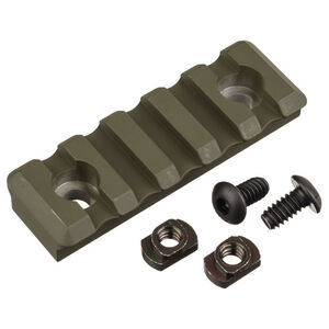 Timber Creek Outdoors M-LOK 5 Slot Picatinny Rail OD Green Cerakote M 5S PR OD