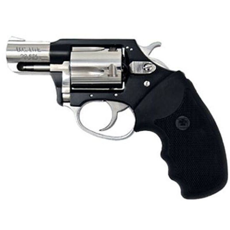 "Charter Arms Undercover Lite Revolver .38 Special +P 2"" Barrel 5 Round Black Rubber Grip Aluminum Black Hi-Polish Finish 53871"