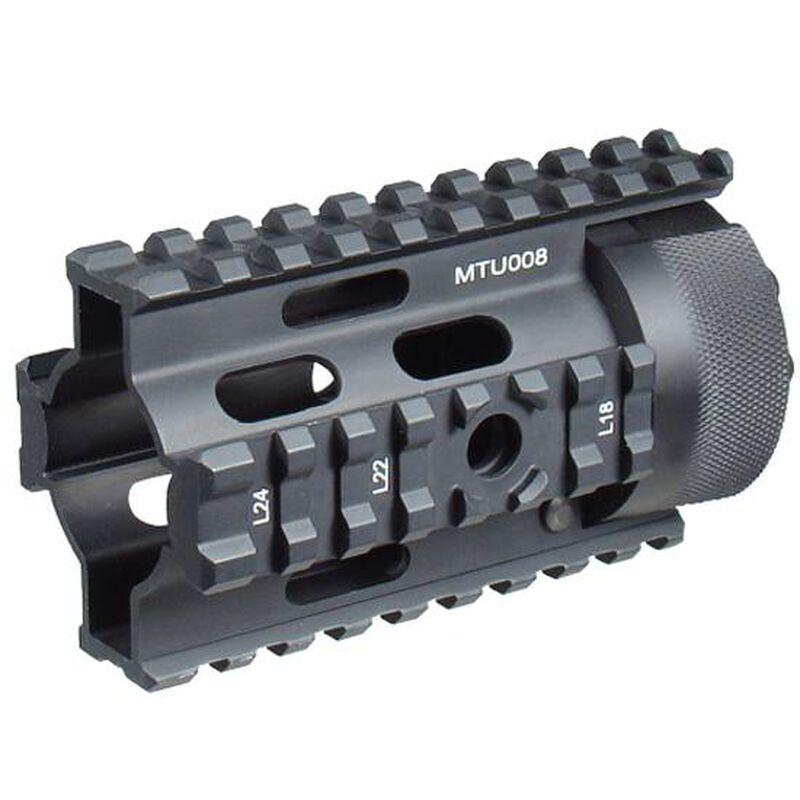"UTG PRO Made in USA AR Pistol 4"" Free Float Quad Rail System"