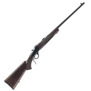 """Winchester 1885 Low Wall Hunter Lever Action Rimfire Rifle .22 Long Rifle 24"""" Octagon Barrel 1 Round Walnut Stock Gloss Blued Finish 524100102"""