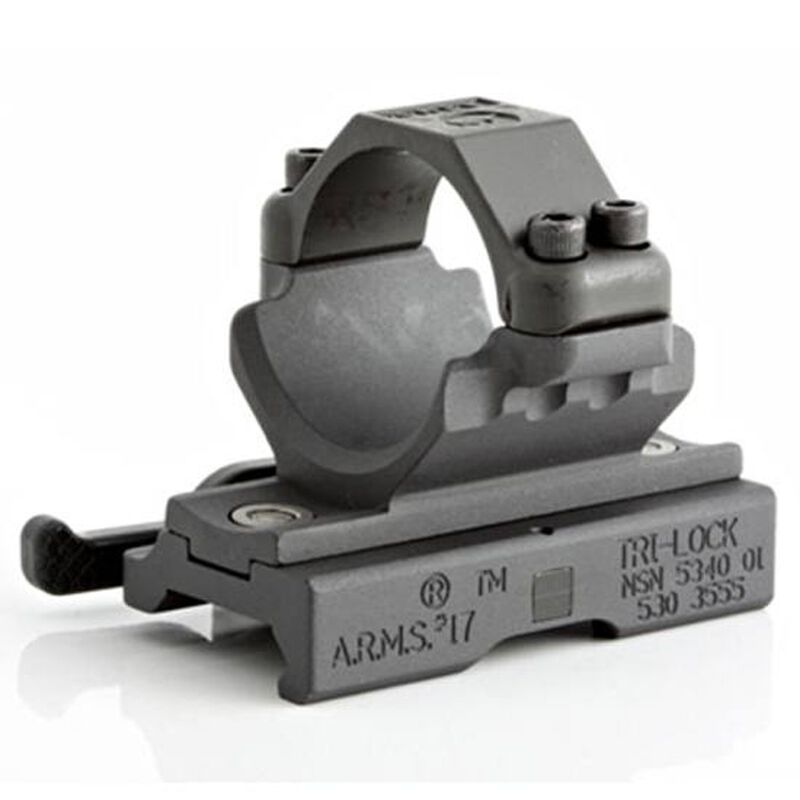 A.R.M.S #22 Aimpoint Comp ML Series Single Throw Lever Mount Aircraft Grade Aluminum Steel Locking Feet Matte Black 22M68