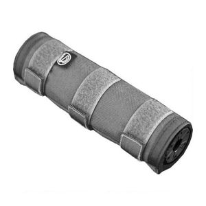 "SilencerCo 7.6"" Suppressor Cover Cordura Nylon Shell Grey AC1740"