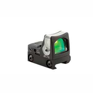Trijicon RMR Dual Illuminated Sight 9.0 MOA Green Dot With RM33 Low Picatinny Mount Matte Black