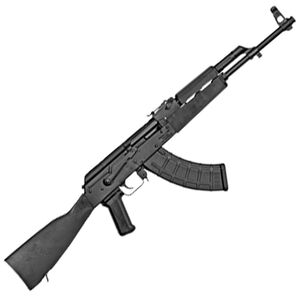 "Century Arms WASR-10 AK-47 7.62x39 Soviet Semi Auto Rifle 16.25"" Barrel 30 Rounds Polymer Furniture Matte Black Finish"