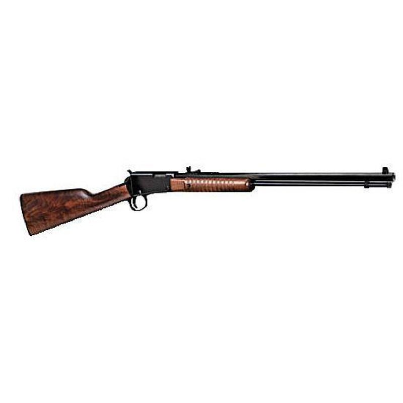 "Henry Repeating Arms Octagon .22 Magnum Pump Action Rimfire Rifle 20.5"" Octagon Barrel 12 Rounds American Walnut Stock Blued Finish"