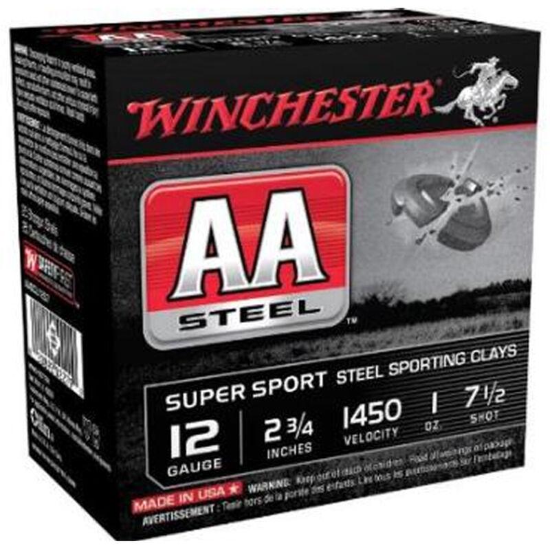 "Winchester USA AA Steel 12 Gauge Ammunition 2-3/4"" #7.5 Steel Shot 1 oz 1450 fps"