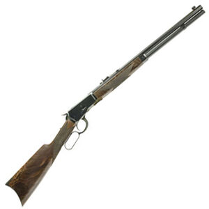 "Navy Arms Winchester 1892 .45 Long Colt Lever Action Rifle 20"" Octagonal Barrel 10 Rounds Walnut Stock Blued Finish"