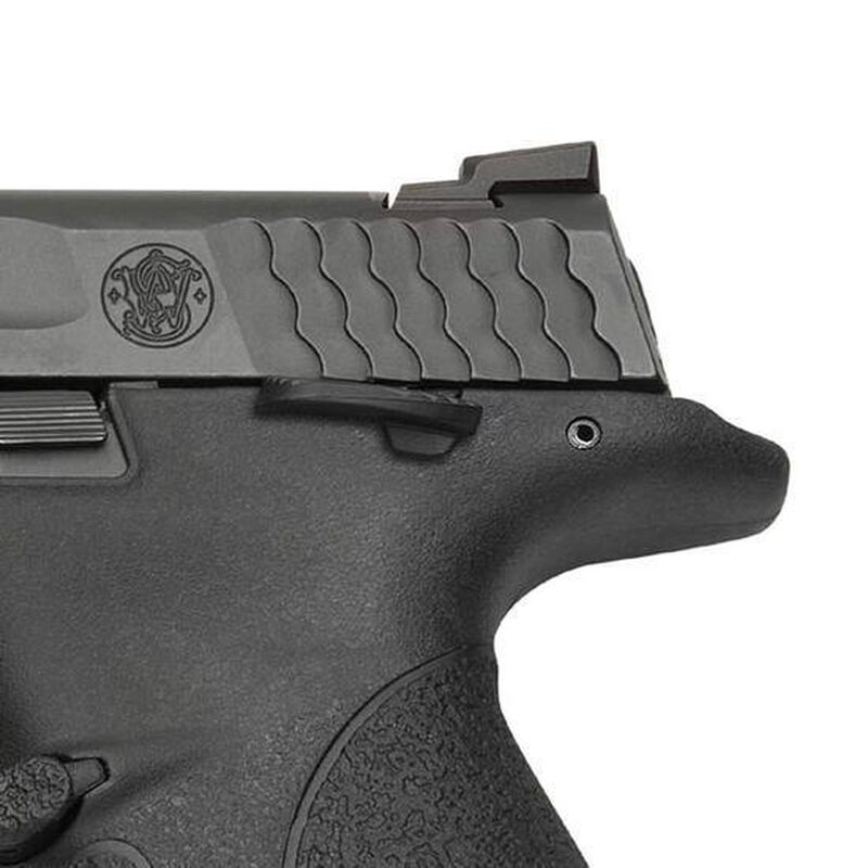 """S&W M&P Fullsize Semi Automatic Pistol 9mm Luger 4.25"""" Barrel 17 Round Capacity Polymer Grip Matte Black with Thumb Safety 206301"""