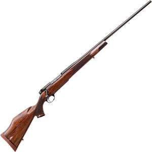 "Weatherby Mark V Deluxe .300 Wby Mag 26"" Barrel 3 Rounds Walnut Stock Polished Blued Finish"