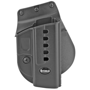 Fobus Evolution Paddle Holster Right Hand Fits SIG Sauer P250 and Similar Passive Retention Polymer Matte Black