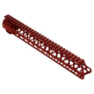 Timber Creek Outdoors Enforcer 13 Inch Hand Guard M-LOK Red Anodized M E13 HG R