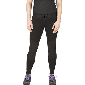 5.11 Tactical Women's Raven Range Tight Pants Size Small Black