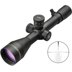 Leupold VX-3i LRP Riflescope 4.5-14x50 30mm Tube CCH Non Illuminated Reticle 30mm Tube 0.1 Mil Adjustments Side Focus Parallax First Focal Plane Matte Black Finish