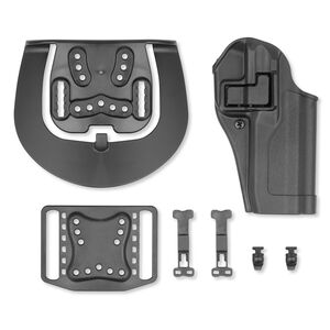 BLACKHAWK! SERPA CQC Concealment Belt/Paddle Holster FN FNS 9/40 Right Hand Polymer  Black 410564BK-R