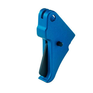 Apex Tactical Shield Flat Faced Action Enhancement Trigger Blue