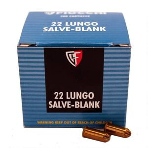 FIOCCHI .22LR Shooting Dynamics Blanks 200 Rounds Pistol/Revolver 22LRBL