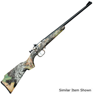 "Keystone Arms Crickett Gen 2 Single Shot Bolt Action Rifle .22 LR 16.125"" Stainless Barrel Iron Sights Synthetic Stock Mossy Oak Break Up Finish"