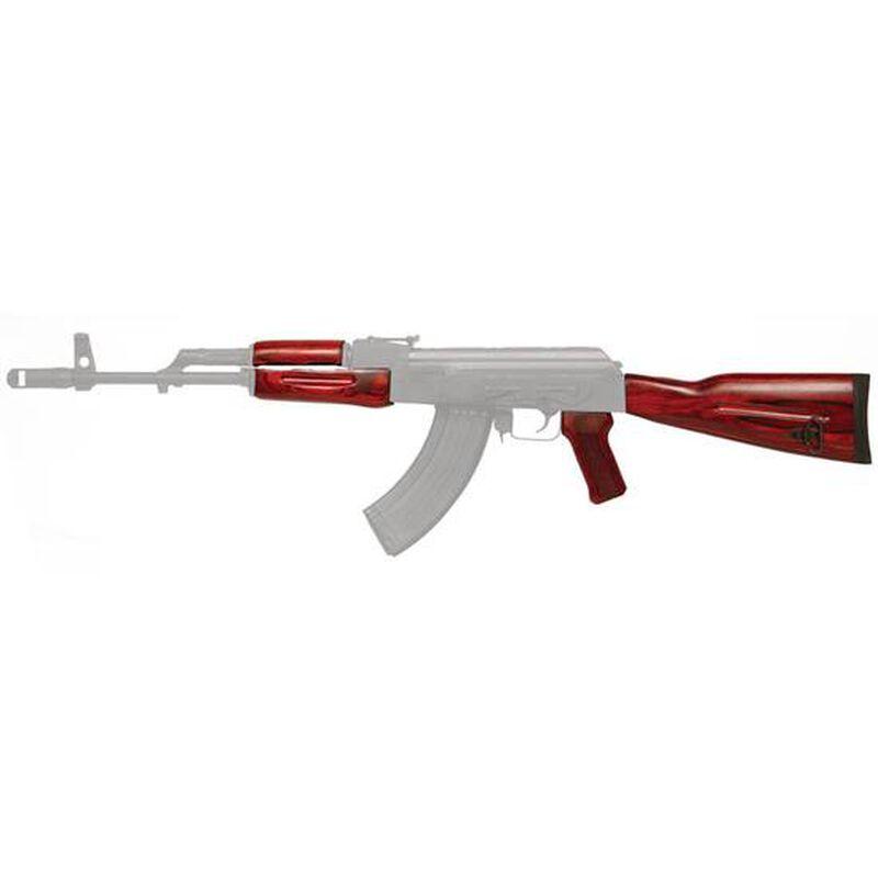 Tapco TimberSmith Romanian AK-47 Wood Stock Set Red