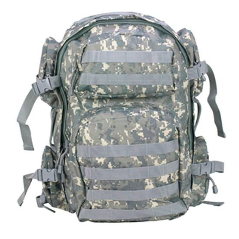 NcSTAR Tactical Backpack Nylon Hydration Compartment MOLLE Compatible Digital Camo