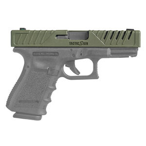 FAB Defense TacticSkin Slide Cover For Glock 19/23/32/38 Polymer OD Green