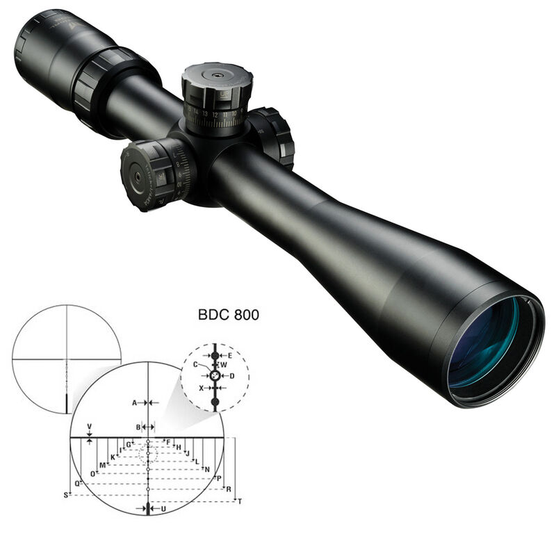 Nikon M-TACTICAL .308 4-16x42SF Rifle Scope BDC 800 Reticle Side Parallax Adjustments Matte Black
