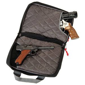 G.P.S. Wild About Shooting Quad Pistol Case Black GPS-1310PC