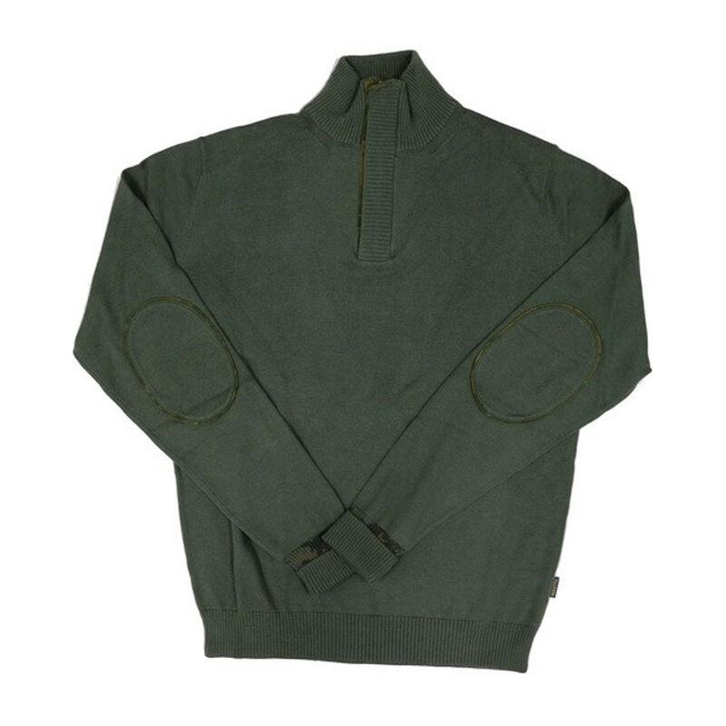 Beretta Men's Half Zip Country Sweater Size Medium Wool Blend Forest Green