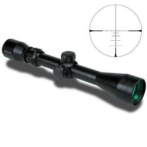 KONUSPRO 550 3x-9x40mm Riflescope with Engraved Ballistic Reticle