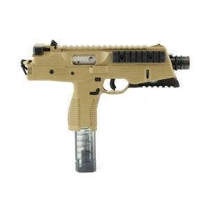 "B&T TP9 Semi Auto Pistol 9mm Luger 5"" Barrel 30 Rounds Picatinny Optics Rail Low Profile Back Up Sights Ambidextrous Magazine Release/Safety Tan"